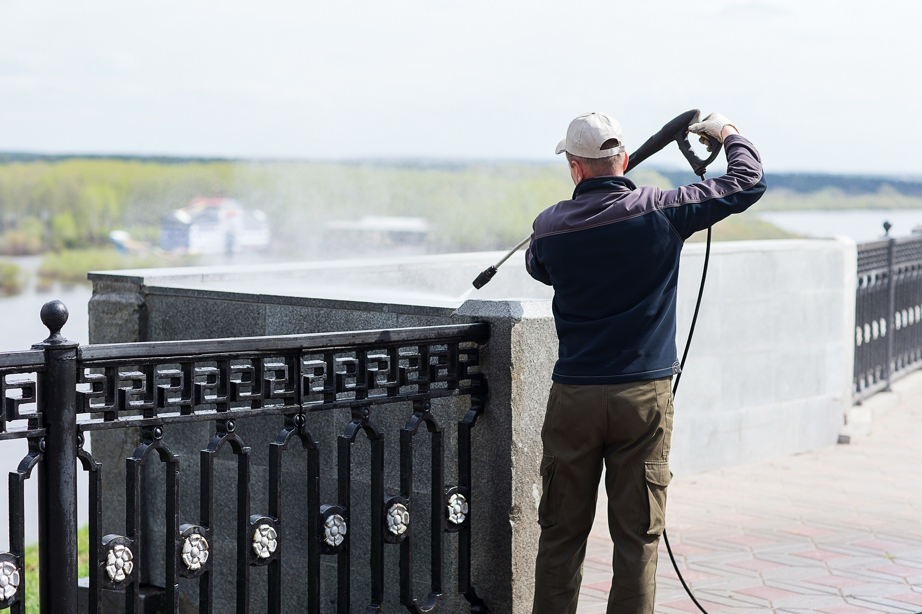 We are the Pressure Washing and Power Washing Pros